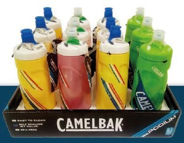 Caramanhola Garrafa Camelbak Podium Chill 620mL - Serie Races