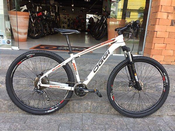Bicicleta OGGI - Branca - Seminovo