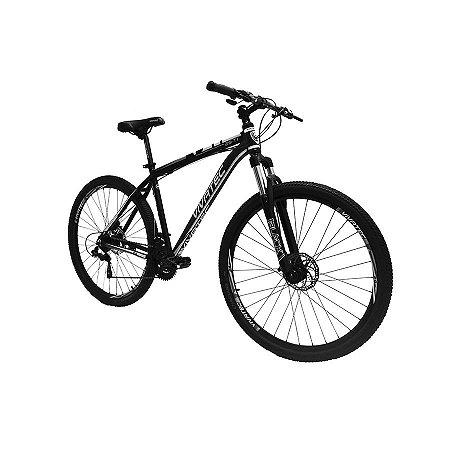 Bicicleta 29 Mountain Bike 21 Vivatec T1 Cinza - Quadro 17 ou 19