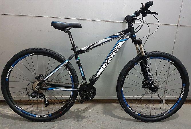 Bicicleta 29 Mountain Bike 24 Vivatec Agile Azul - Quadro 17