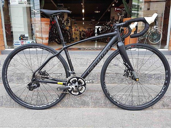 Bicicleta Specialized Diverge A1 - Preta - Tamanho 52 - Seminovo