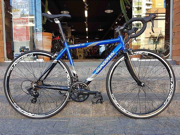 Bicicleta Speed Sundown Columbus 16S - Tamanho 52 - Seminovo