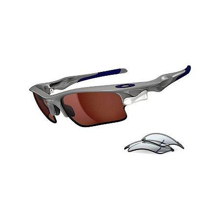 Óculos Oakley Fast Jacket Cinza