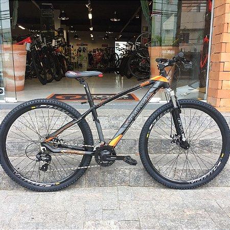 Bicicleta 29 Mountain Bike Viking Laranja - Quadro 17 ou 19