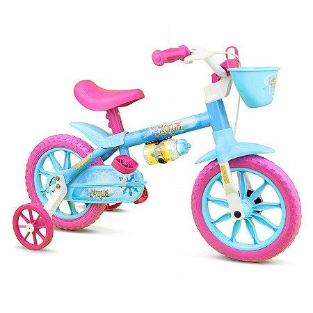 Bicicleta Infantil Nathor Aro 12 Aqua