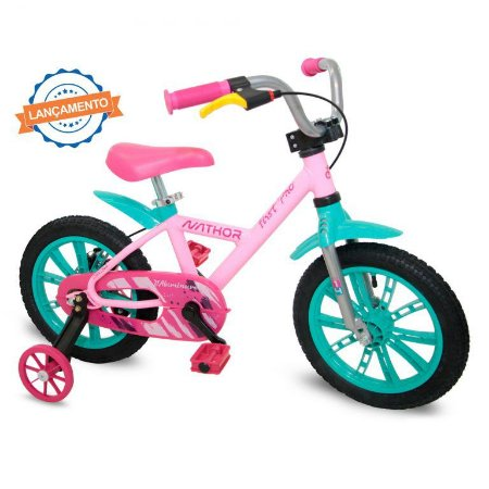 Bicicleta Infantil First Pro Nathor Aro 14 Feminina