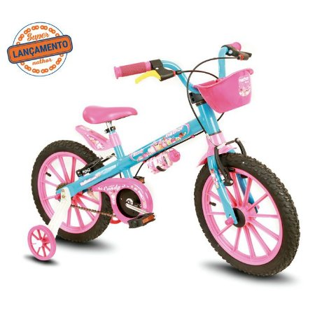 Bicicleta Infantil Candy Nathor Aro 16