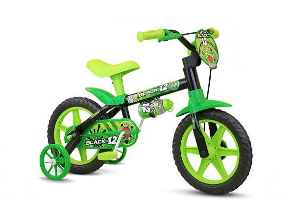 Bicicleta Infantil Nathor Aro 12 Black
