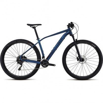 Bicicleta Specialized Rockhopper Pro 2017 Azul Com Preto