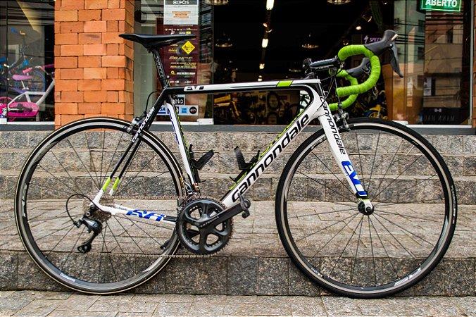 Bicicleta Cannondale Supersix EVO SST 2013 Quadro em Carbono 22 Velocidades