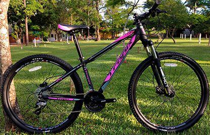 Bicicleta Tropix Tor R29 T17.5 24v Acera Fdh Sst Preta/roxo