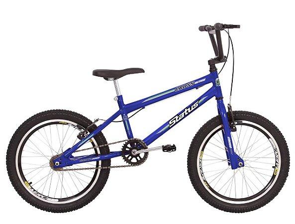 Bicicleta Status Cross Action R20 Azul