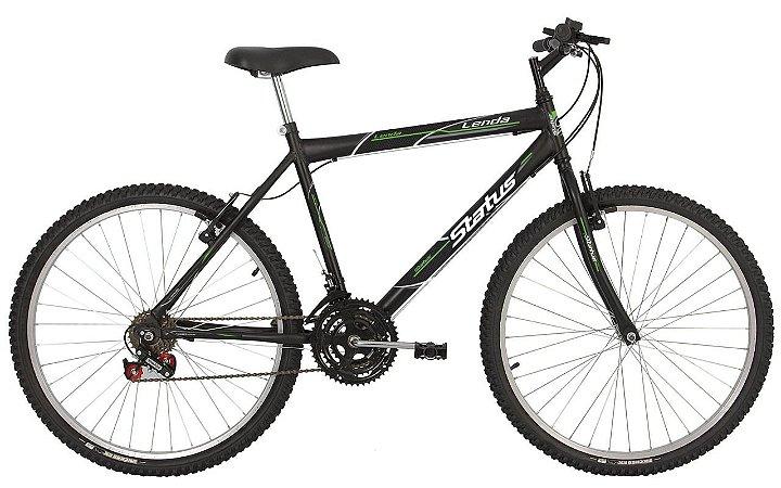 Bicicleta Status Lenda R26 18v Preto Fosco