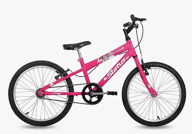 Bicicleta Status Belíssima R20 Rosa Barbie