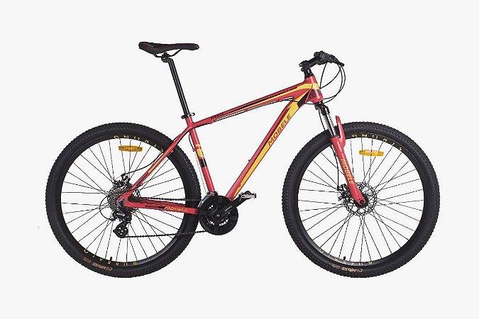 Bicicleta Mobele Buffalo R29 T17.5 Altus Fdm Sst Vermelha/amarelo