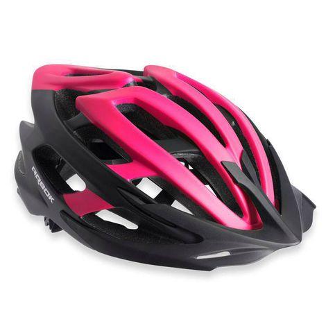 Capacete Ciclismo Arbok Escalera Preto/Rosa Fosco