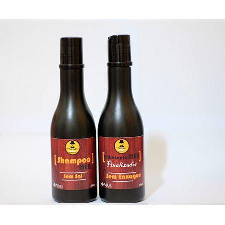 Kit Shampoo e Hidratante Sem Enxague 250ml