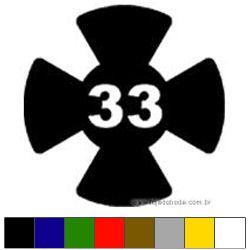 Adesivo - Grau 33