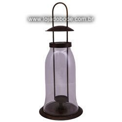 Castiçal de Pendurar - Teto - 1 vela- 42cm