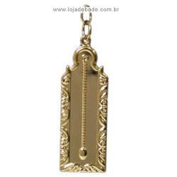 Jóia 2º Vigilante - (Prumo) - Dourada ou Prateada