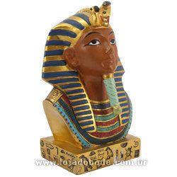 Busto Faraó Tutankamon - 10cm