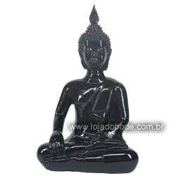 Buda Hindu - Preto brilhante