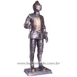 Guerreiro Medieval com Lança - 40cm