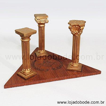 Adorno de mesa 3 Colunas