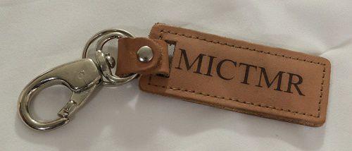 Chaveiro em Couro e Metal - MICTMR