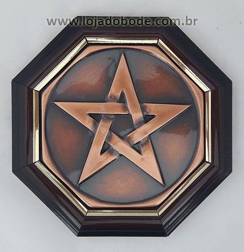 Quadro Oitavado - Pentagrama