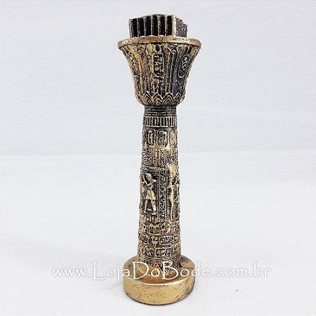 Coluna Egípcia tipo Castiçal
