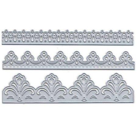 Faca para Corte e Relevo em Metal Borda Arabesco TEC