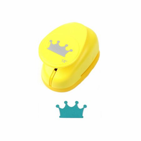 Furador para Papel 3,8 cm Coroa
