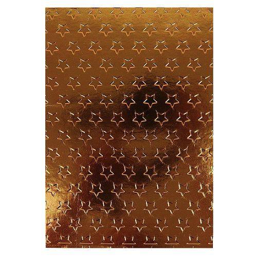 Placa de Textura Emboss 13 cm x 18 cm Estrelinhas