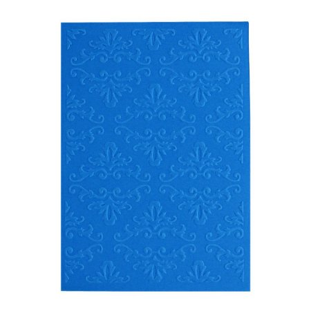 Placa de Textura Emboss 10,6 cm x 15 cm Arabesco Chique