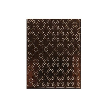 Placa de Textura Emboss 10,6 cm x 15 cm Azulejo Antigo