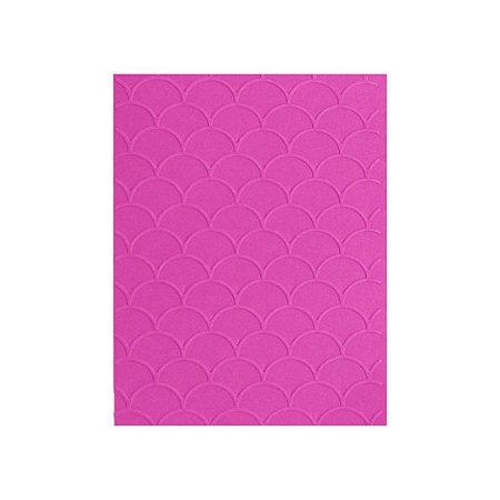 Placa de Textura Emboss 10,6 cm x 15 cm Escama