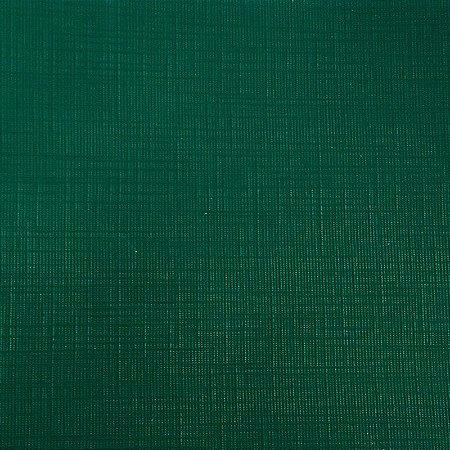 Papel para Scrapbook Plast Linho 30,5x30,5 Art0111 Verde Pinho