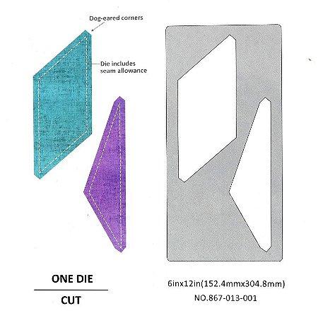 Placa de Corte em Metal Grande Modelo Patchwork 4