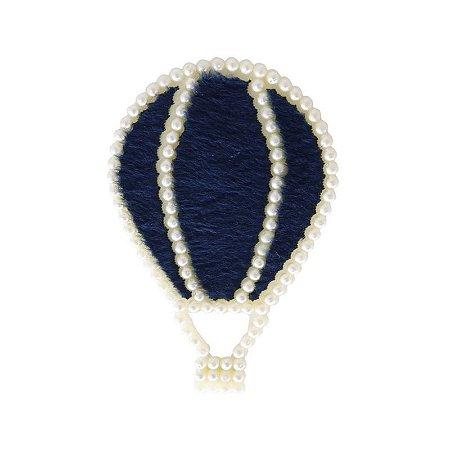 Aplique Balão Azul Marinho