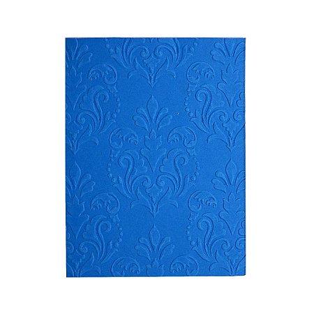 Placa de Textura Emboss 10,6 cm x 15 cm Lustre Arabesco