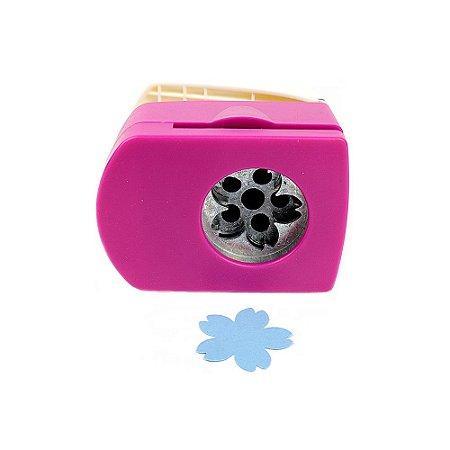 Furador para Papel 32 mm Flor Sakura