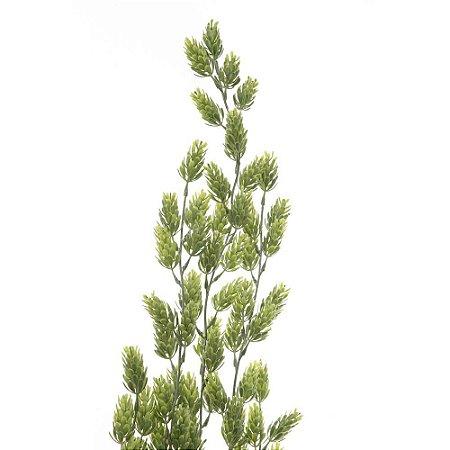 Pendente de Suculenta Lúpulo com 5 Galhos 72 cm