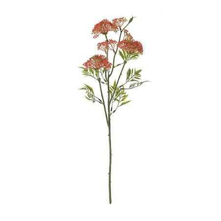 Galho de Erva Doce Vermelho 51 cm