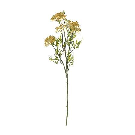 Galho de Erva Doce Amarelo 51 cm