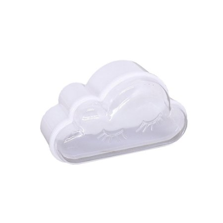 10 Unidades Caixinha Acrílica Nuvem Branca