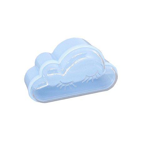 10 Unidades Caixinha Acrílica Nuvem Azul