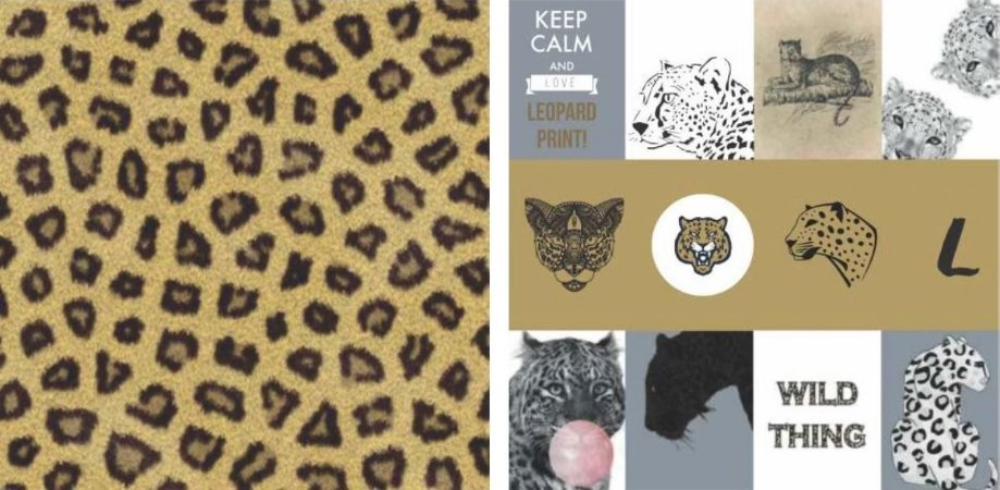 Papel para Scrapbook Desenhos 30,5x30,5 Art0174 Wild Thing