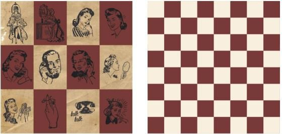 Papel para Scrapbook Desenhos 30,5x30,5 Art0180 Board Game
