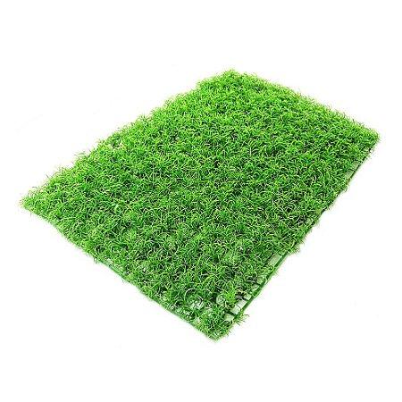 Placa de Grama Fina Verde Clara  60 cm x 40 cm